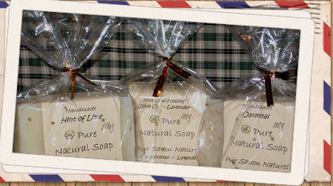 Bargain Pure Natural Soap Line - Bulk Savings