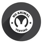 No Animal Testing Logo:  Sandy Hook Soap Factory produces truly natural products with no animal testing, not now, not ever!